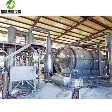 Tires to Fuel Oil Pyrolysis Machine